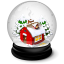 Christmas-house-icon gialini